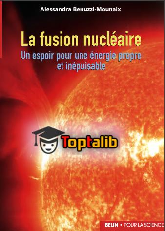 télécharger le livre de la fusion nucléaire un espoir pour une