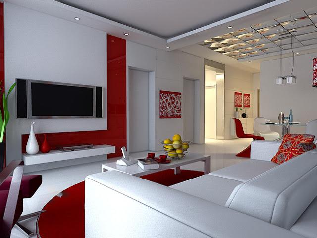 Design 2012: modèle séjour moderne