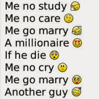 Gambar Kata Lucu BlackBerry FB Bahasa Inggris PP Funny English