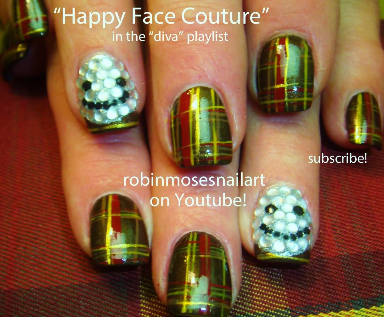 Robin moses nail art august 2014 nail art tutorials cute diy nail art tutorial designs prinsesfo Image collections