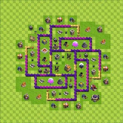 Kumpulan Base Town Hall 7 Defense Terbaru