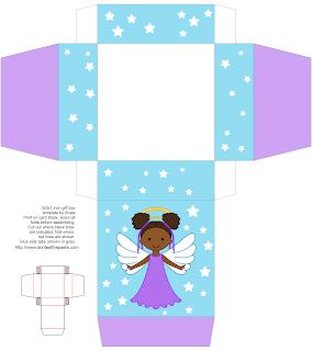 Printable angel box