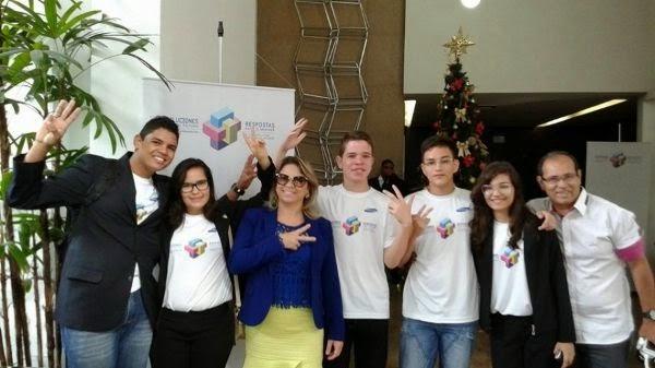 Currais Novos: Estudantes da Escola Estadual Tristão de Barros ganham prêmio da Samsung