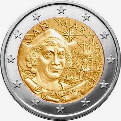 2 euro San Marino 2006 Christopher Columbus