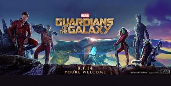 Film Guardians of the Galaxy di Bioskop
