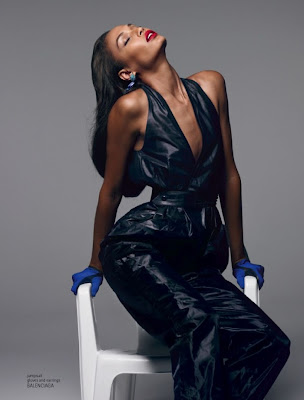 Joan Smalls by Sean & Seng for 032c Magazine