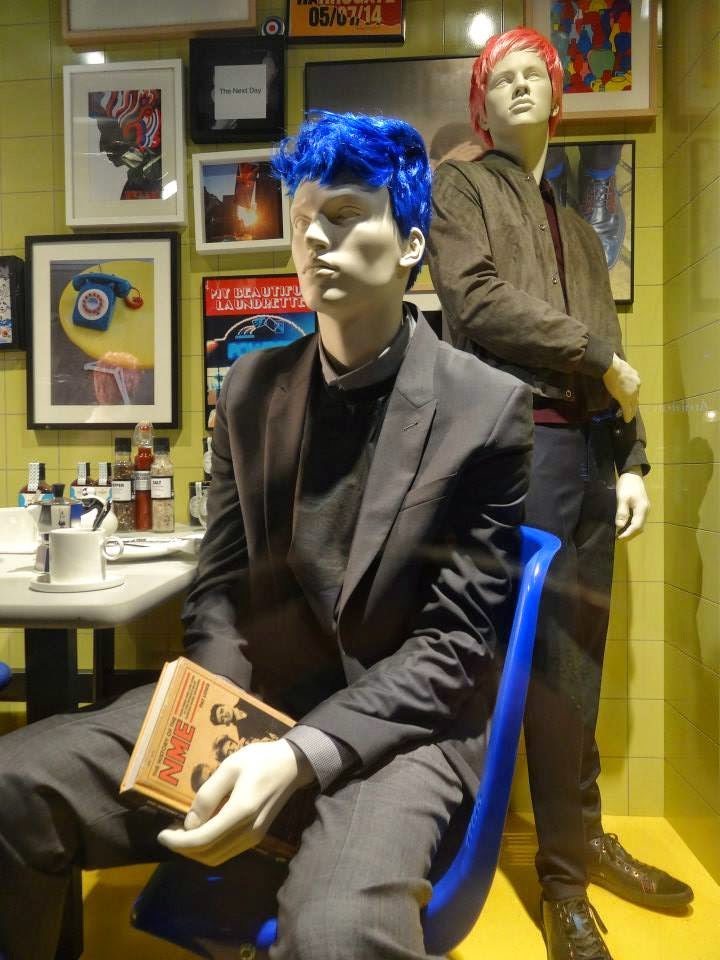 Selfridges Shop Window 2014 jul-aug Paul Smith - Master of Inspiration