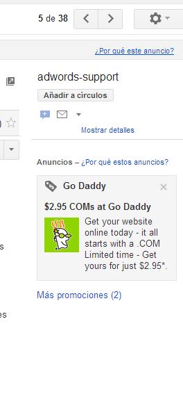 Adwords y Pago por Clic  Promociones Patrocinadas - Nuevos banners ... 9c7e60c90ce86