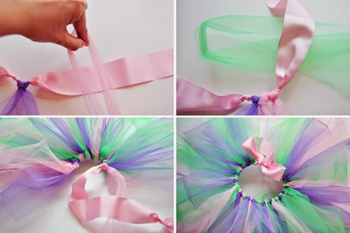Ideas para tus Fiestas Infantiles: ¿Como hacer un tutu sin coser?