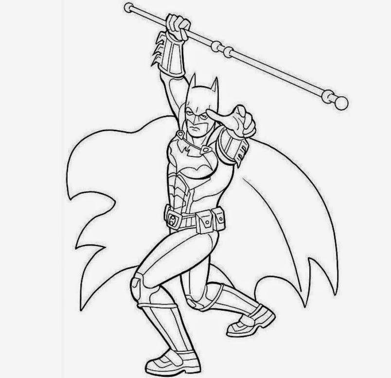 Batman For Kid Coloring Drawing Free wallpaperd