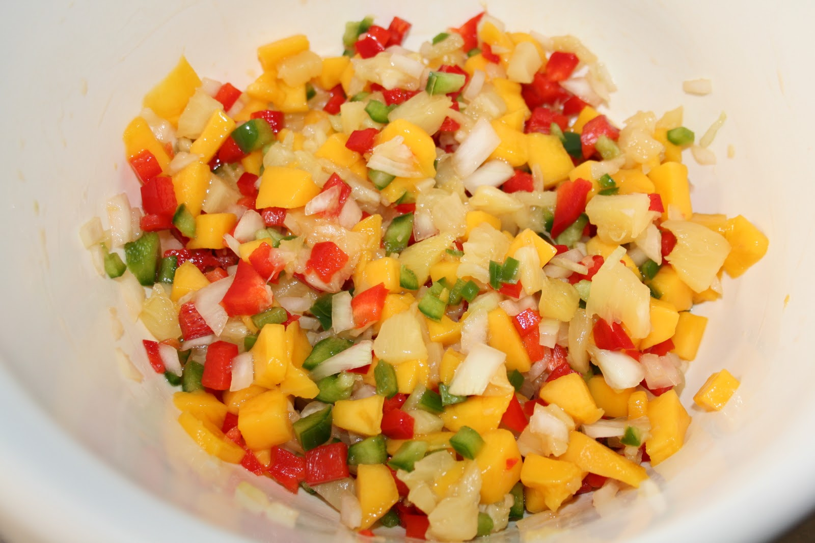 Favourite Recipe Swap: Pineapple Mango Salsa