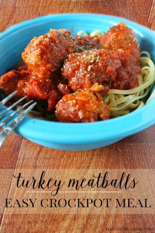 These tender flavorful turkey meatballs are sure to become a favorite slow cooker meal