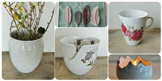 Håndlaget keramikk