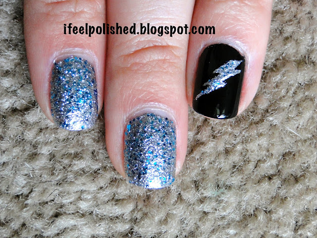 Tampa Bay Lightning Manicure