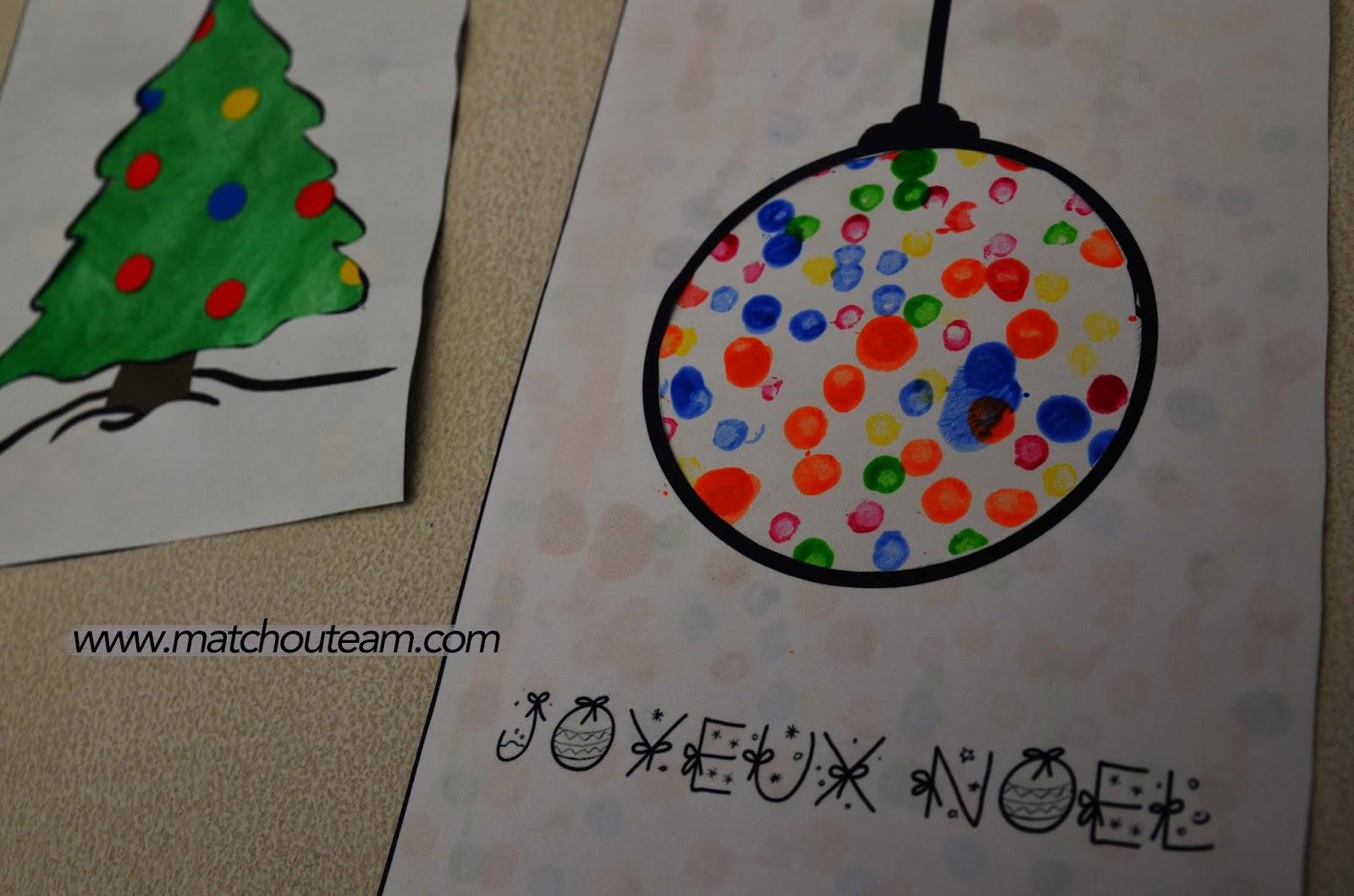 Noël carte à fabriquer