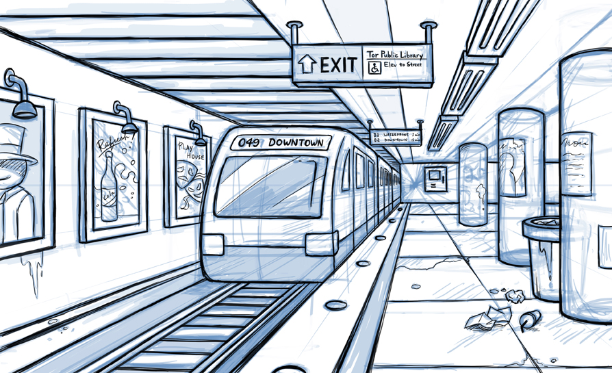 Irene 39 s animation blog for Exterior 1 point perspective