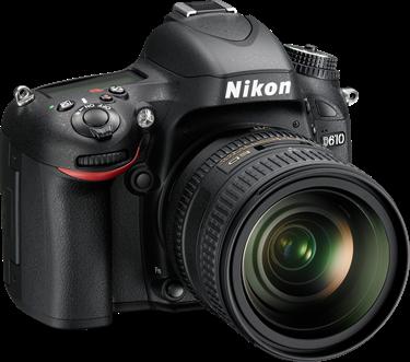 Nikon D610 Camera User's Manual