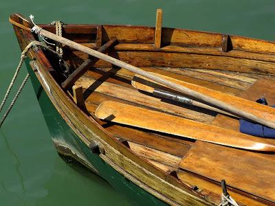 Wooden boat, Fosso Reale, Livorno