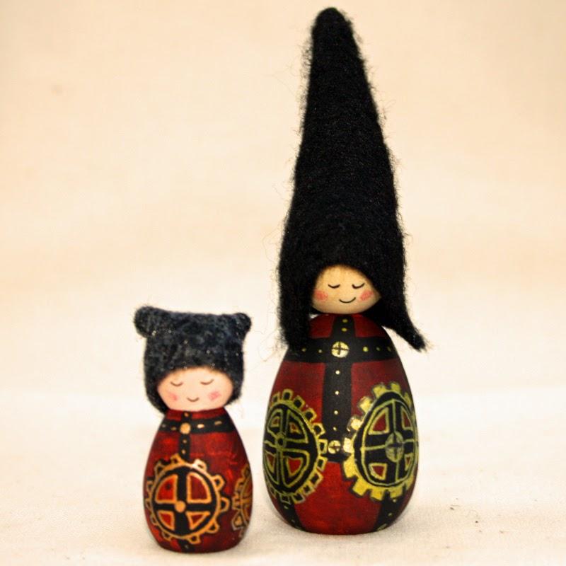 Steampunk cornish pixie elves