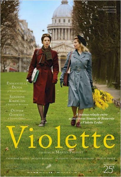 """Poster do filme """"Violette"""""""