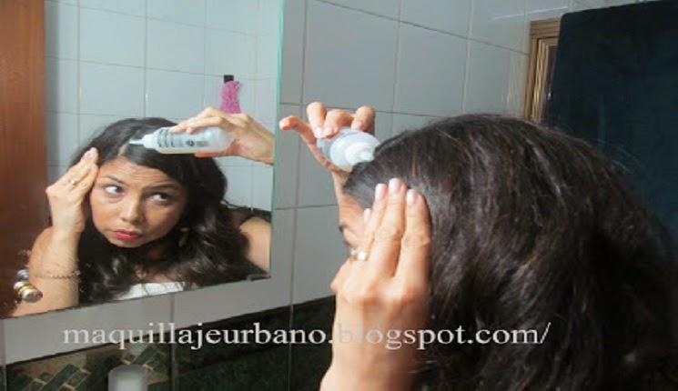 como lavar el cabello
