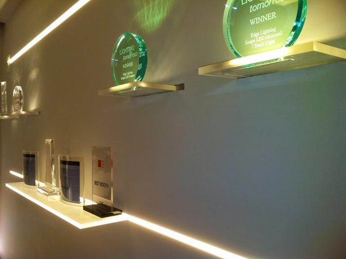 półki szklane LED | inspiracje LED