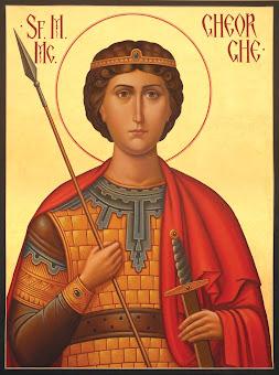Astazi 23 aprilie praznuirea Sfantului Mare Mucenic Gheorghe, purtatorul de biruinta !