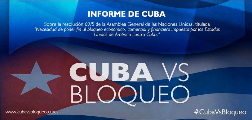 CUBA BLOQUEO 2015