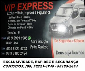 VIAGEM PRA TERESINA. VÁ DE VIP EXPRESS - ADM: PEDRO CARDOSO (PEDRINHO)