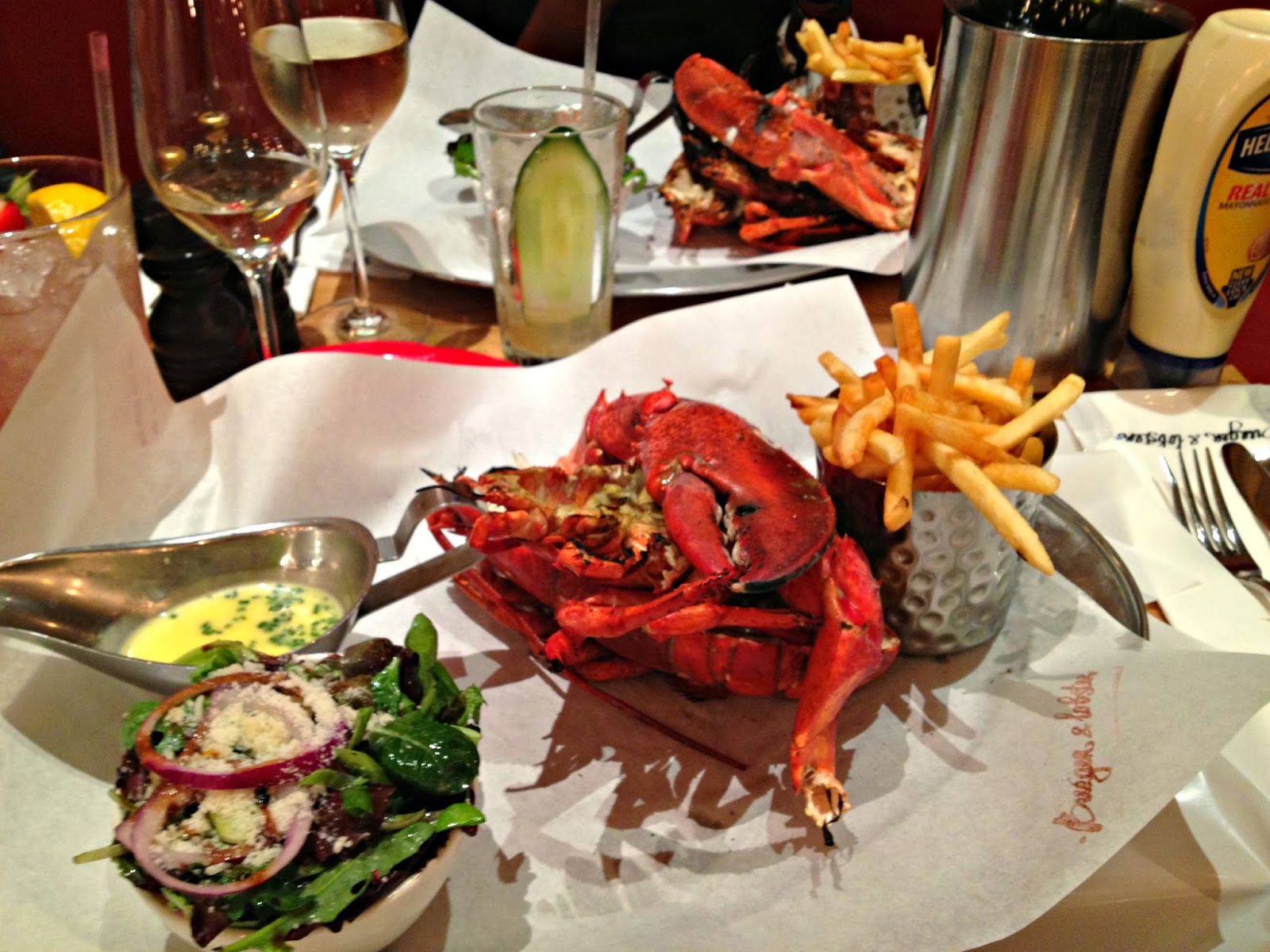 Burger and Lobster Green Park
