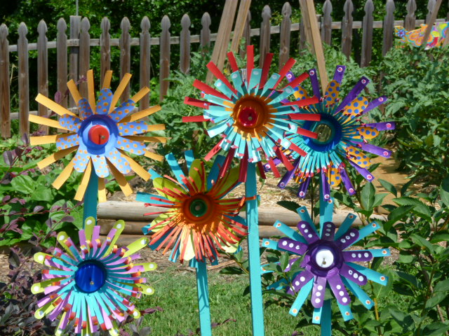 simply inspired aluminum can flowers