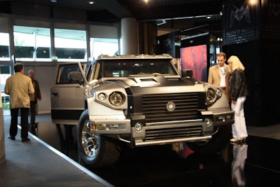 Armored SUV Dartz Prombron L4P Ladies.Only Seen On www.coolpicturegallery.us