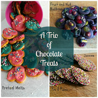 Mrs U Makes... A Trio of Chocolate Treats #nobake @MrsUMakes
