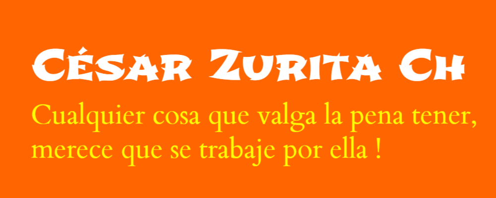 Cesar Zurita Ch
