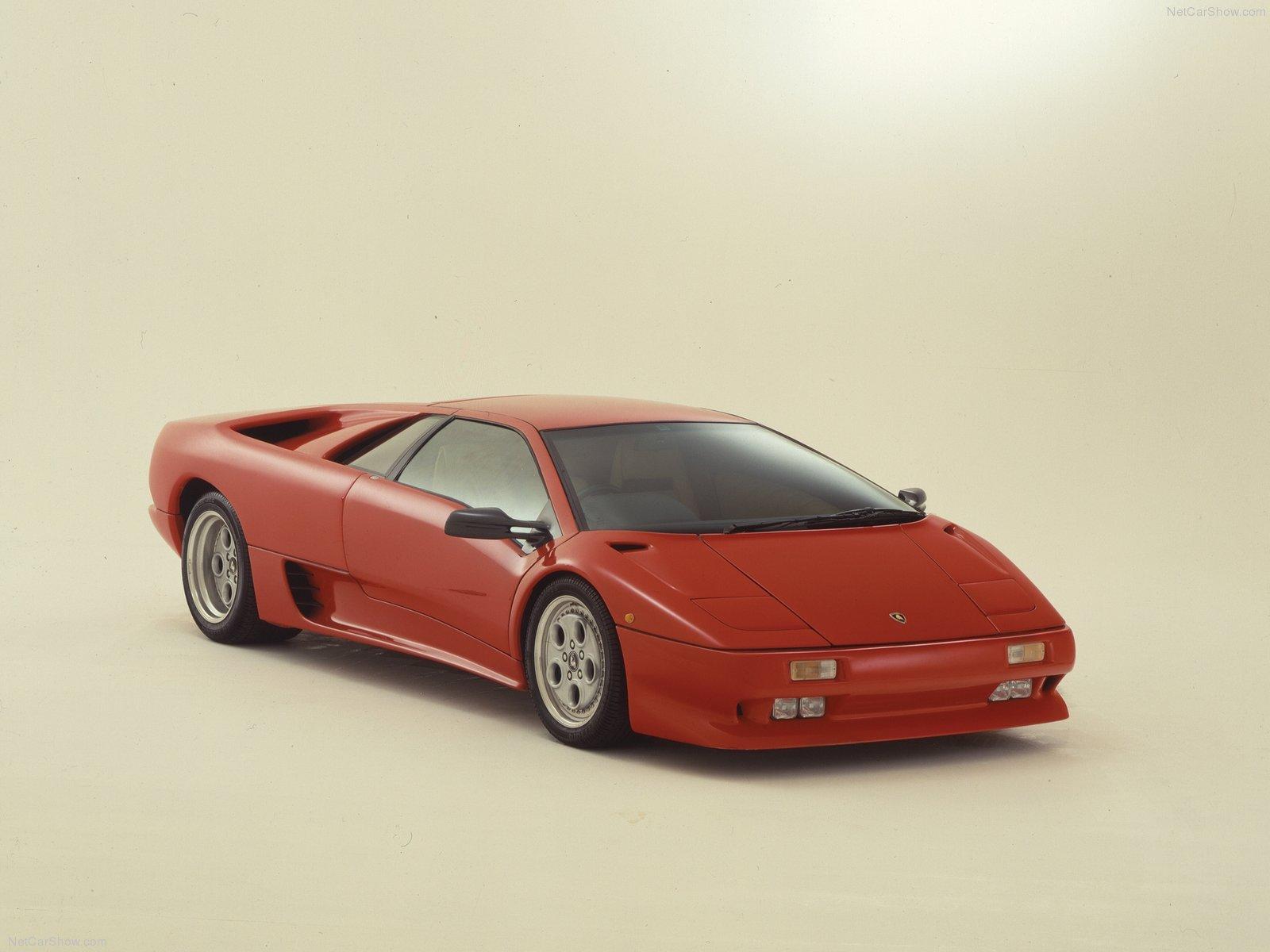 Hình ảnh siêu xe Lamborghini Diablo 1990 & nội ngoại thất