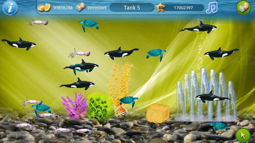 рыбалка в аквариуме играть бесплатно