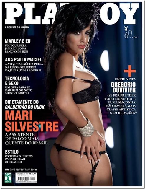 Fotos Veja Mari Silvestre Nua Playboy De Mar O