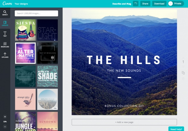 list of the best online poster maker tool