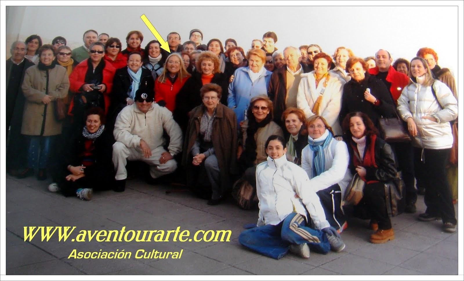 Viajes, visitas guiadas y actividades culturales con la Asociación Aventourarte.