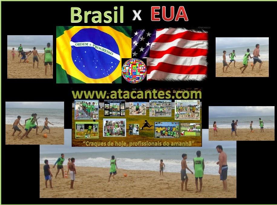 Brasil e USA. Intercâmbio.