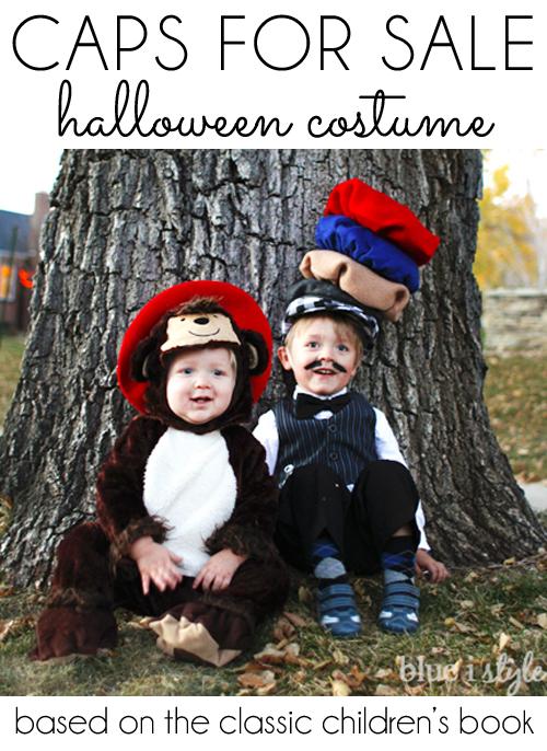 Caps for Sale Peddler Halloween Costume