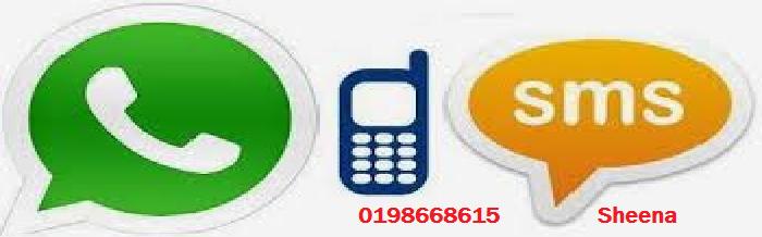 HUBUNGI/WHATSAPP/SMS