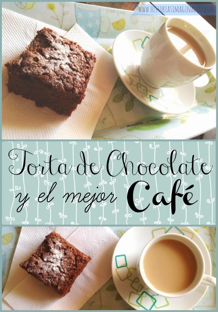 Receta Torta de Chocolate y el mejor cafe