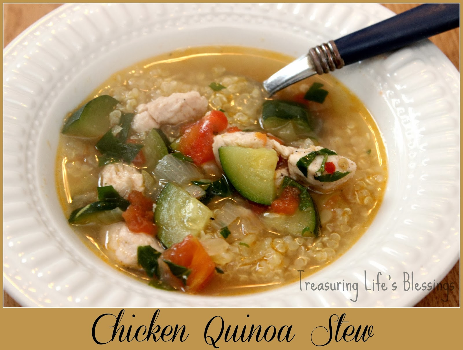 chicken quinoa stew