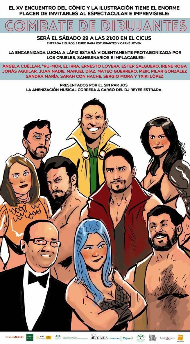 Cartel realizado por Diego Galindo