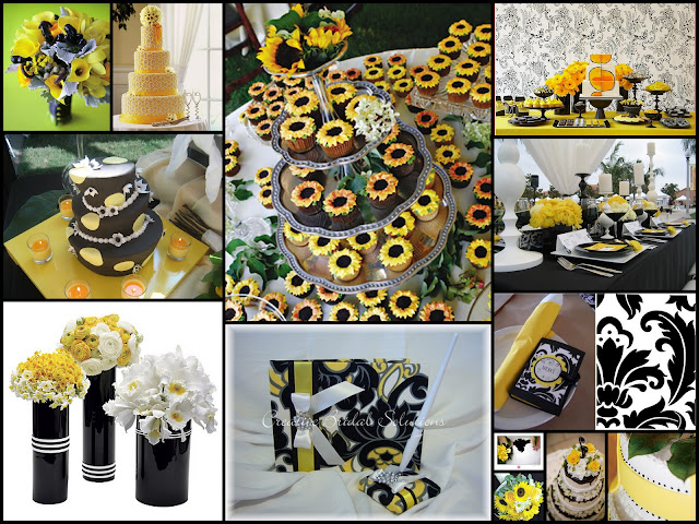 DECORAR BODA CON TONOS AMARILLO WEDDING YELLOW