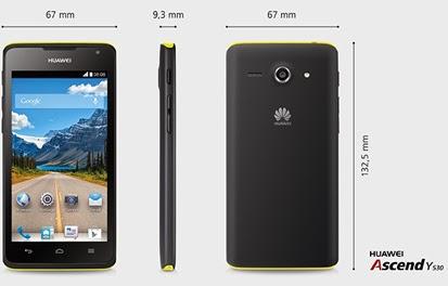 Huawei Ascend Y530 | Harga Dan Spesifikasi