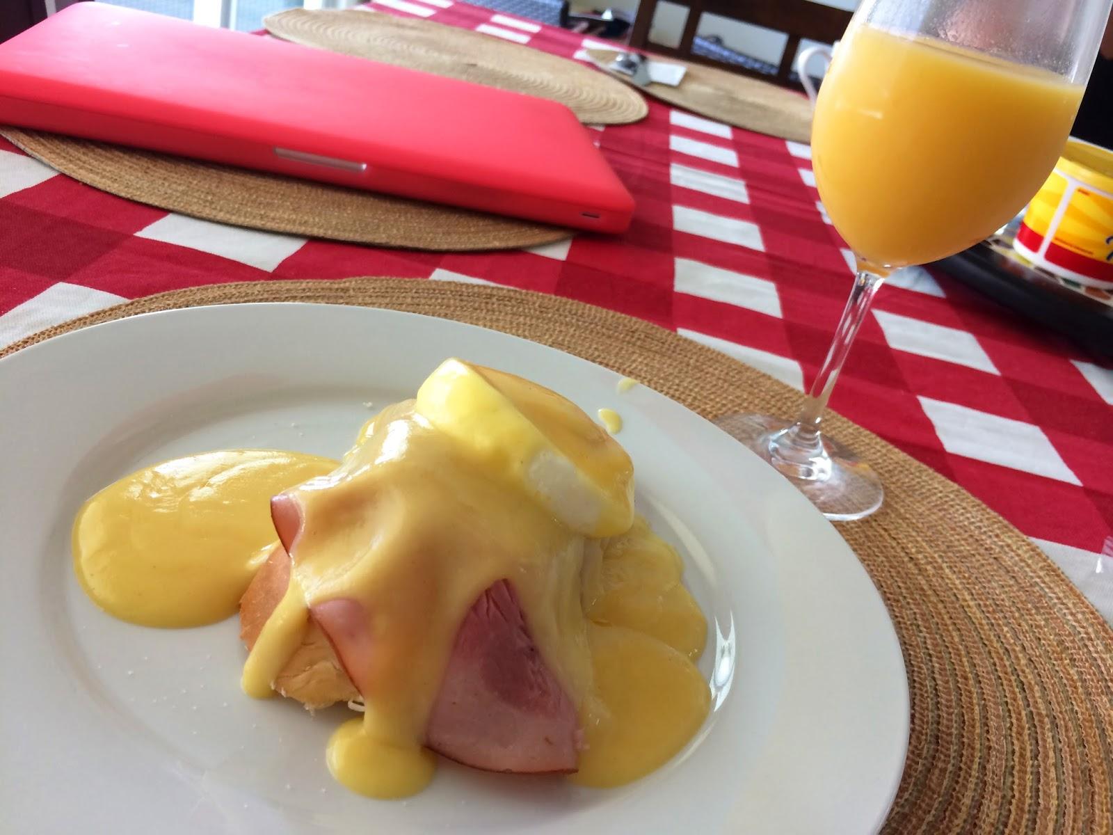 Benedict Eggs, Delicious Breakfast