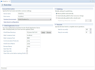 how to set up eclipse juno 1.7