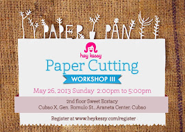 Washi + Papercutting Workshop on May 26!